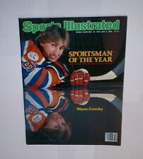 1982 NO LABEL  Sports Illustrated WAYNE GRETZKY ! Sportsman of the YEAR  !
