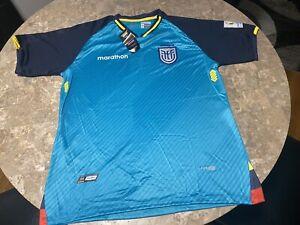 ECUADORIAN SELECTION FOOTBALL JERSEY SOCCER SHIRT XS /S / M /L (COPY) Unofficial