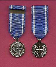 NATO Service Anodized mini miniature medal