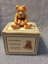 Phb Collection Porcelain Hinged Box Beary Best Bears 45090-1 New
