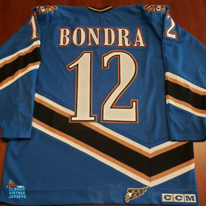 Peter Bondra Vintage Washington Capitals CCM Jersey