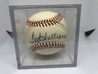 Ted Williams Signed Auto Autograph Rawlings Baseball MLB HOF