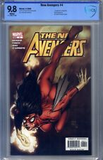New Avengers #4 Cbcs 9.8 Finch, Miki, 1st Maria Hill, Electro, Wolverine,Mr Hyde