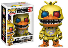 Pop! Games: Five Nights At Freddy's Nightmare Chica FUNKO # 216 free shipping