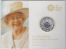 2016 SILVER £20 COIN 90TH BIRTHDAY OF THE QUEEN FLAT PACK IN PERFECT CONDITION