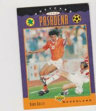 Upper Deck World Cup USA 1994 trading card UD6 Ruud Gullit Holland FR/NL