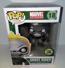 FUNKO POP! SDCC 2013 MARVEL METALLIC GHOST RIDER FIGURE LE 480 LIMITED EDITION