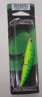 Cotton Cordell  Floating Minnow Fishing Crankbait  Green Tiger  color