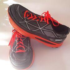 Mens Hoka One One Mafate 4 Trail Running Shoes Sneakers Size 11 Black & Orange