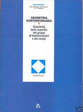 GEOMETRIA CONTEMPORANEA vol. 1 edizioni MIR