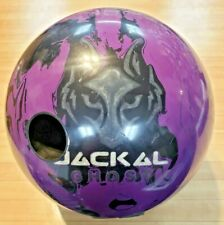 MOTIV JACKAL GHOST BOWLING BALL 14LB. RH - 1 DRILL