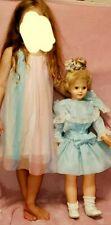 Patty Playpal Friend Uneeda 3176 Plastic Doll 31�vintage #33 w/handmade dress
