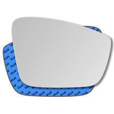Außenspiegel Spiegelglas für SEAT MII 2011-2015 links Fahrerseite konvex