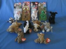 Retired Lot Of 12 Beanie Babies, Teenie Beanies, McDonalds Give Aways Late 90's