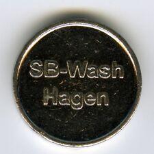 # GERMANY ☆ CAR WASH TOKEN • SB-WASCH • HAGEN ☆ JETON • NOTMÜNZE • FICHA  ☆C3824