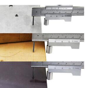 0-200mm Marking Vernier Caliper With Carbide Scriber Parallel Marking Gauging