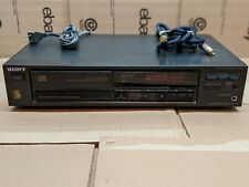 Sony Compact Disc Cd Player Cdp-670 Made in Japan Vtg 1989 Single Disc Tested!