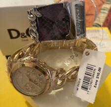 Orologio Michael Kors MK3131, Listino € 249.+ orologio D&G, list. €310