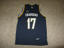 NEW Phillip Rivers San Diego Chargers NFL Football Jersey Tank Top Nike L Large