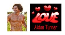 Aidan turner love celebrity acteur nouveauté fun tag bag 2 faces porte-clés