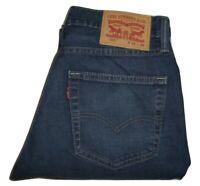 Mens Levi's 511 Slim Fit Dark Blue (0460) Stretch Denim Jeans W32 L32