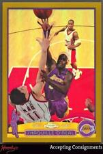 2003-04 Topps Chrome Refractors Gold #34 Shaquille O'Neal 29/99 LAKERS