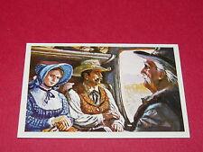 N°235 LES PASSAGERS LA CONQUETE DE L'OUEST WILLIAMS 1972 PANINI FAR WEST WESTERN