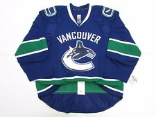 VANCOUVER CANUCKS AUTHENTIC HOME TEAM ISSUED REEBOK EDGE 2.0 7287 JERSEY SIZE 52