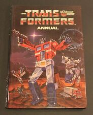 1986 Marvel Grandreams TRANSFORMERS Annual Hardcover UK excl. book FAIR to GD