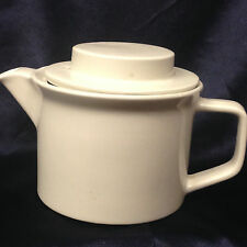 JOHNSON BROTHERS TIVOLI WHITE TEAPOT 38 OZ ALL WHITE COUPE SMOOTH