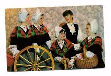 Wales - Welsh National Costume - Vintage Postcard