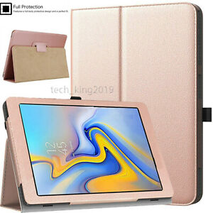 """Leather Flip Stand Case Cover For Samsung Galaxy Tab A 10.1"""" 2016 T580 T585"""