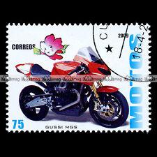 ★ MOTO GUZZI 1200 MGS-01 CORSA ★ Timbre Moto / Sport Bike Motorcycle Stamp #100