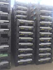 5 x PLASTIC STORAGE FOLDING PALLET BOX CONTAINER - MAGNUM FLC K975 - 500KG