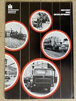 1975 International Harvester History and Development original sales brochure