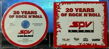 V/A - SPV GmbH 20 Years Of Rock N' Roll (CD, 2004, Steamhammer, Germany) Promo