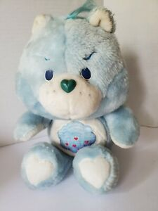 "Vintage Care Bears 1983 Kenner Size 12"" Plush Stuffed Grumpy Bear 🐻"