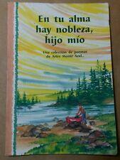 En tu Alma Hay Nobleza Hijo Mio Poemas de Arte Monte Azul