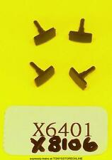 hornby oo spares x6401/8106 1x pack of 4 rectangular buffers suits class 92 loco
