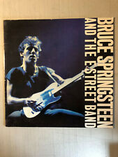 Bruce Springsteen and the E Street Band 1980 tour program book