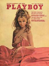 May 1970 Playboy Jennifer Liano Phylllis Babila Fellini's Satyricon W F Buckley