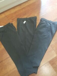 Very 11/12 Plus Fit School Trousers 3 pairs inside leg 55cm