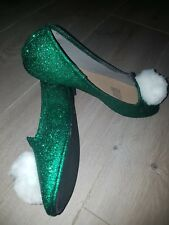 Tinkerbell Adult Shoes/slippers Costume