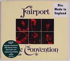 FAIRPORT CONVENTION: Live EU/UK Remastered ISLAND CD w/ Slipcase Folk NM