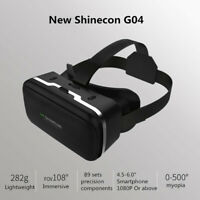 3D Virtual Reality Headset VR Goggles Glasses Helmet Box For iPhone 7 8 Samsung