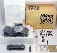 Nikon F4 SLR 35mm Film Camera Body MB20 Nikon DP-20 s/n:23X W/BOX **MINT**