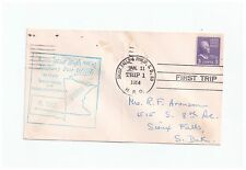 US First Trip Sioux Falls and Philip SD 1954 cover