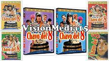 SEALED 6 Pack El Chavo Del 8 Ocho DVD VOl 1 2 3 4 5 6 Super Coleccion SHIPS NOW