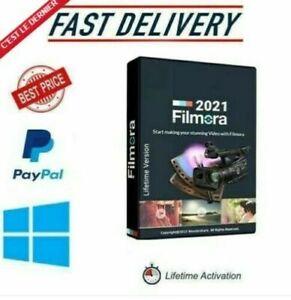 Wondershare Filmora 10 | Filmora X | Lifetime Pre-Activated | Full Version 2021