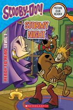 NEW BOOK SCOOBY DOO PICTURE CLUE READER READY TO READ LEVEL 1 ~ STORMY NIGHT